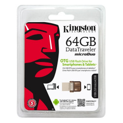 Clé USB OTG Kingston 64Go